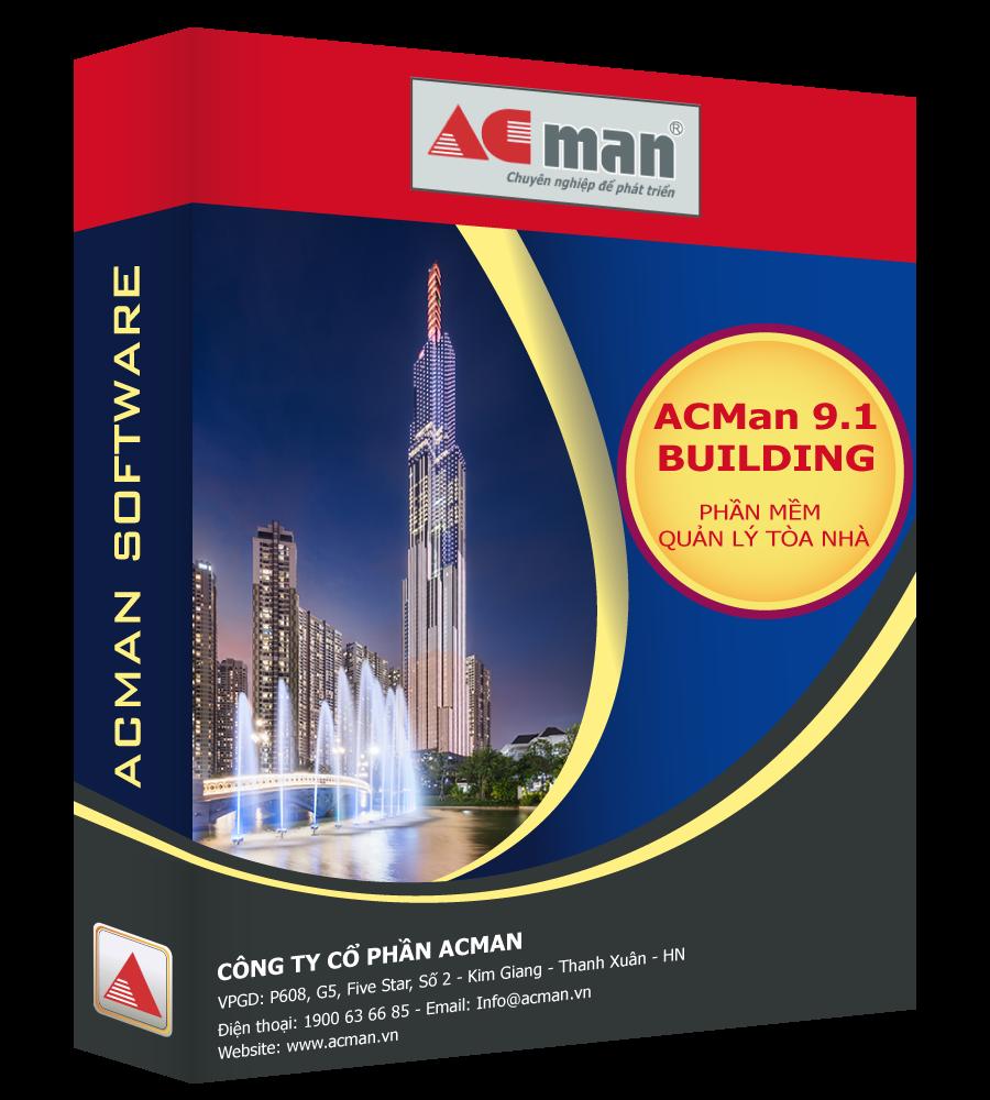 Phần mềm quản lý tòa nhà văn phòng ACMan Building