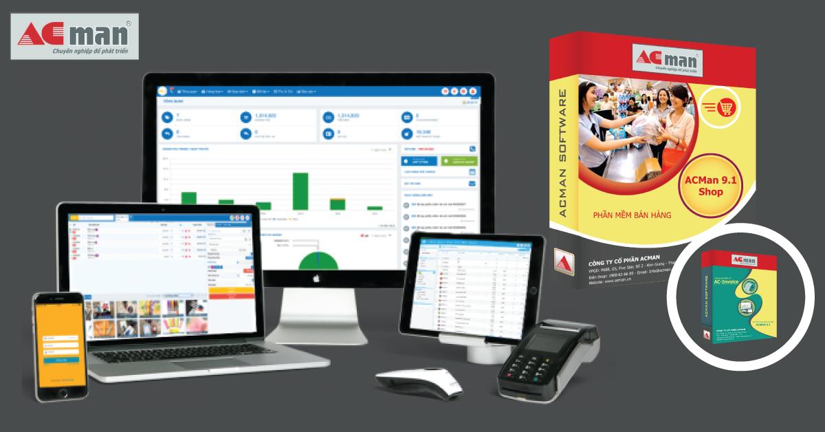 Phần mềm tính tiền cho cửa hàng, nhà hàng, siêu thị tốt nhất hiện nay