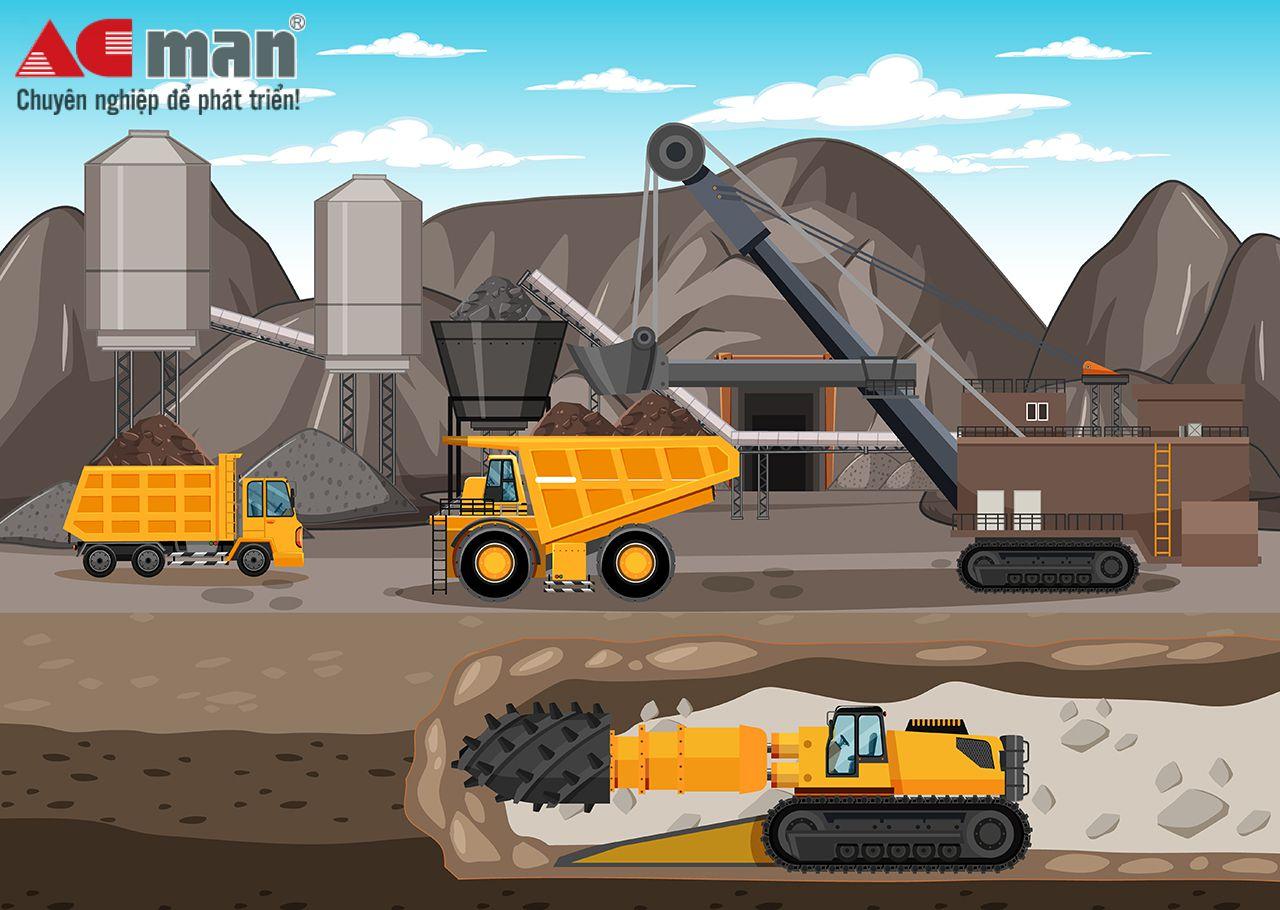 Phần mềm kế toán cho doanh nghiệp lĩnh vực khai thác khoáng sản