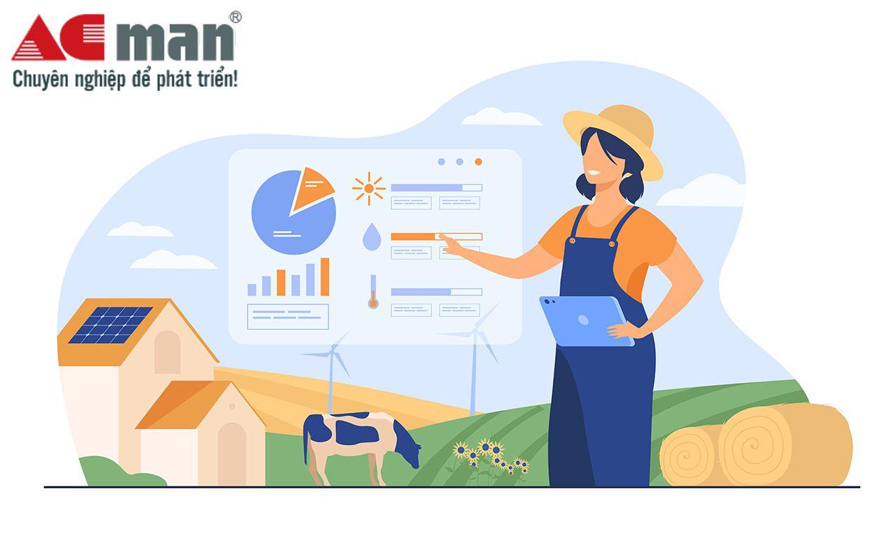 Phần mềm kế toán cho doanh nghiệp lĩnh vực trang trại nông nghiệp