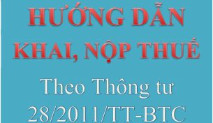 Thông tư 28/2011/TT-BTC thay đổi tạo thuận lợi cho NNT