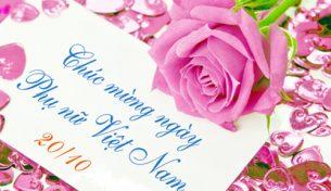Công ty Cổ phần ACMan chúc mừng ngày Phụ nữ Việt Nam 20-10