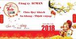 Công ty Cổ phần ACMAN Chúc mừng năm mới xuân Mậu Tuất 2018