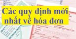 Quy định sử dụng hóa đơn tự in, đặt in từ ngày 01/06/2014