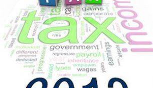 Quy định mới về thuế từ ngày 01/07/2013