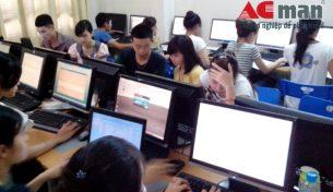 Đào tạo kế toán máy ACMan thu hút đông đảo học viên