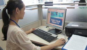 Doanh nghiệp tích cực kê khai hoàn thuế điện tử