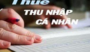 Bộ Tài chính hướng dẫn việc giãn nộp thuế thu nhập cá nhân