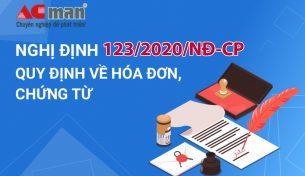 Chính thức ban hành Nghị định 123/2020/NĐ-CP quy định về hóa đơn, chứng từ