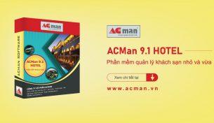 Phần mềm quản lý khách sạn nhỏ và vừa ACMan Hotel