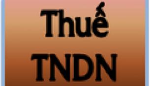 Một số điểm mới của thuế TNDN năm 2014