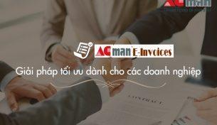 Quy trình đăng ký sử dụng phần mềm hoá đơn điện tử ACMan