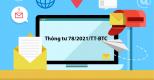Bộ Tài chính ban hành Thông tư 78/2021/TT-BTC – Hướng dẫn triển khai hóa đơn điện tử